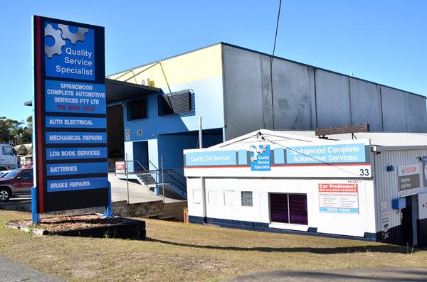 The Springwood Complete Automotive Services building.